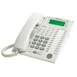 TELEFONO PANASONIC KX-T7735HIBRIDO CON PANTALLA DE 3 LINEAS, 12 TECLAS DSS, 12 TECLAS PF Y ALTAVOZ